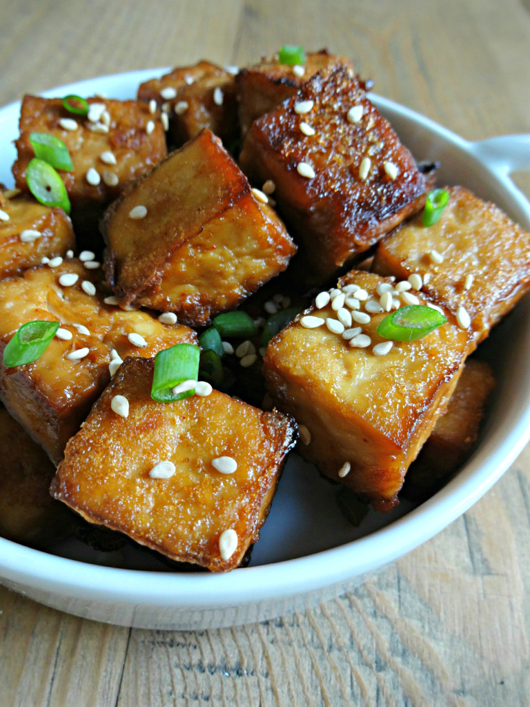 Basic Asian Broiled Tofu Recipe — Dishmaps