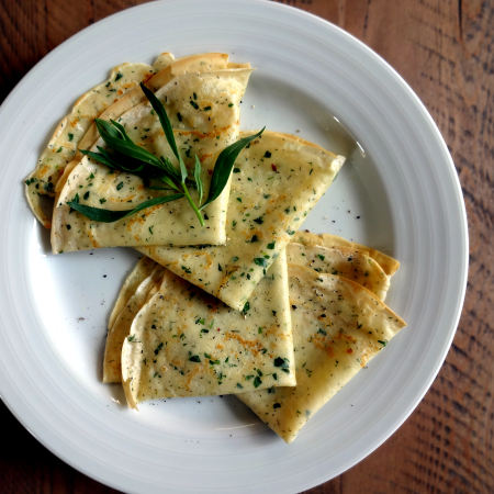 Savory Crepes With Herbs