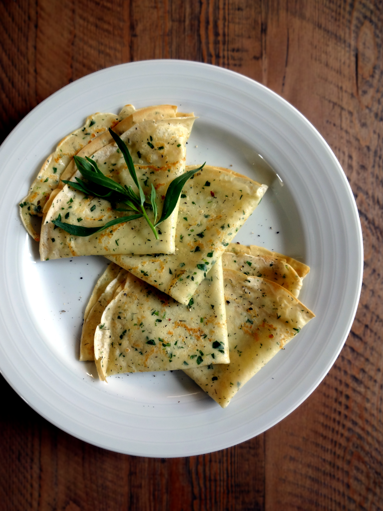 Savory Crepes With Fresh Herbs Two Of A Kind