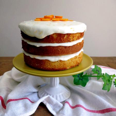 Naked Lemon Cake