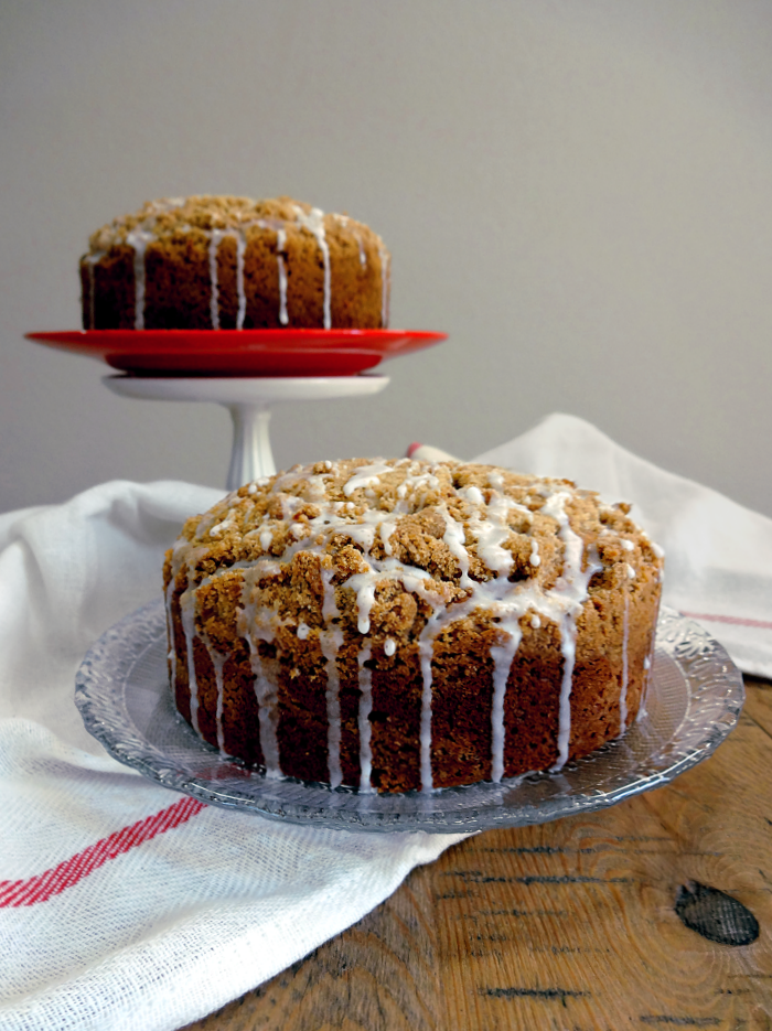 Cinnamon Streusel Coffee Cake - Two of a Kind
