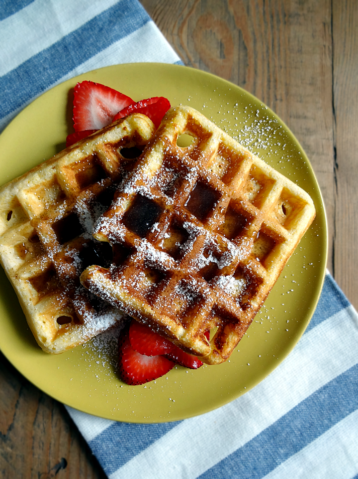 recipe: cornmeal waffles egg whites [8]