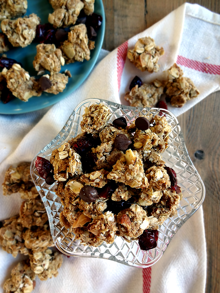 Almond Berry Chocolate Chip Cookie Granola