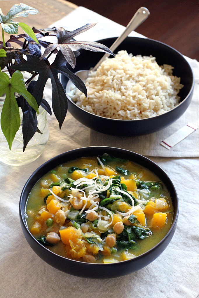 Butternut Squash and Chickpea Curry_top