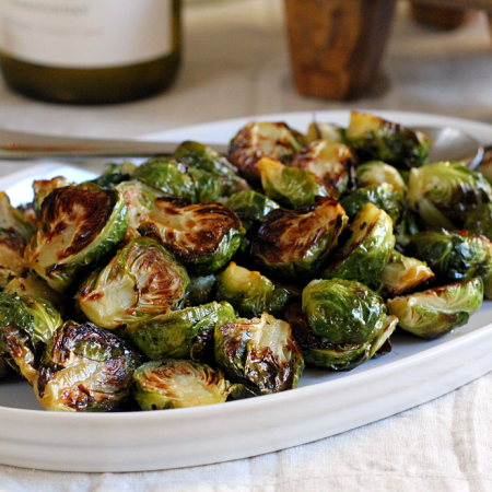 Roasted Brussels Sprouts_close