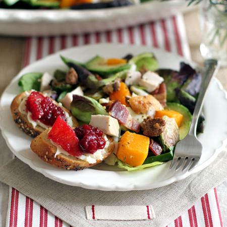 Turkey Cobb Salad_plated_close