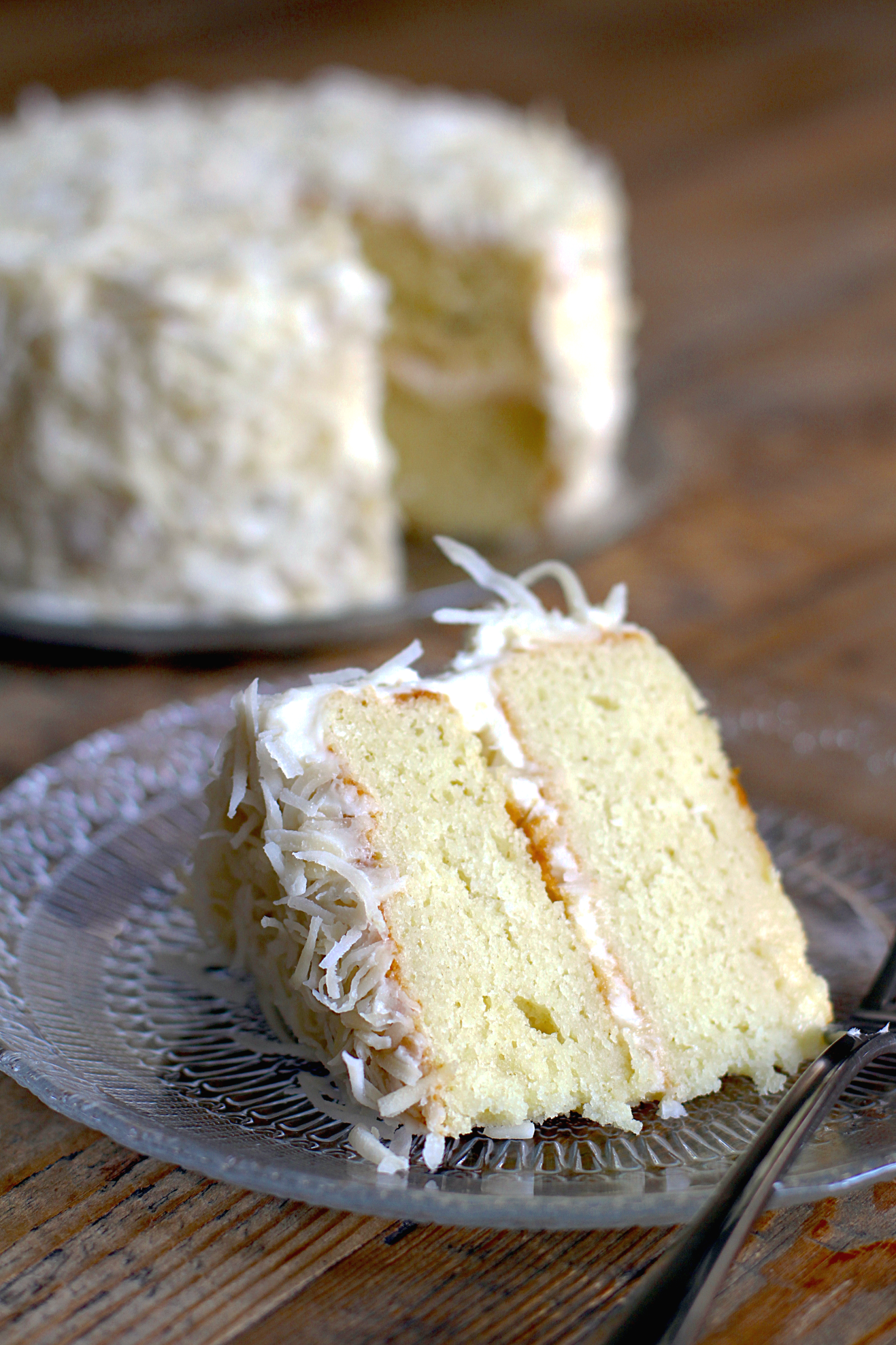 Cake With Cream Cheese Frosting : Coconut Cake with Cream Cheese Frosting - Two of a Kind
