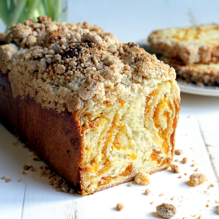 Apricot and Almond Babka