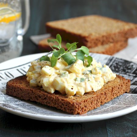 Egg Salad with Greek Yogurt_close