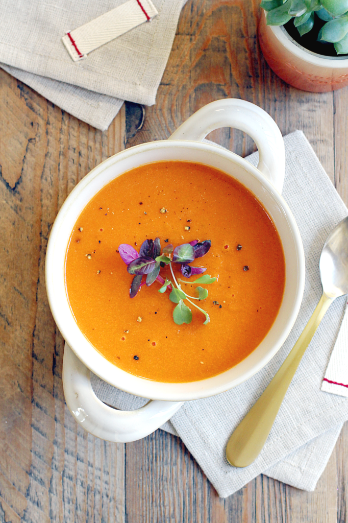 Roasted Carrot Soup - Two of a Kind
