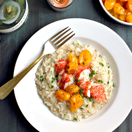 Brown Butter Risotto with Lobster_top