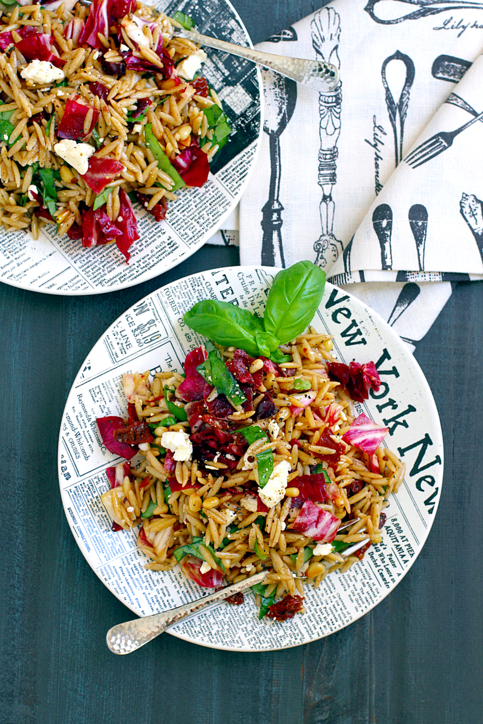 Orzo with Everything Pasta Salad