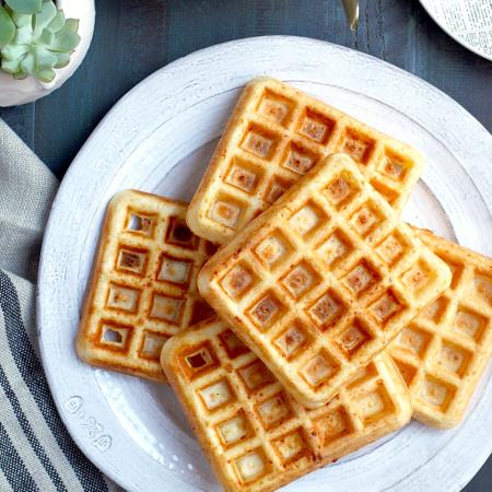 Pao de Queijo Waffles