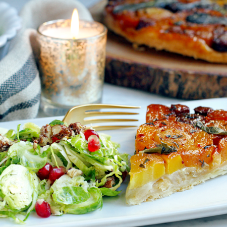 shaved-brussels-sprouts-salad-and-vegetable-tarte-tatin_side