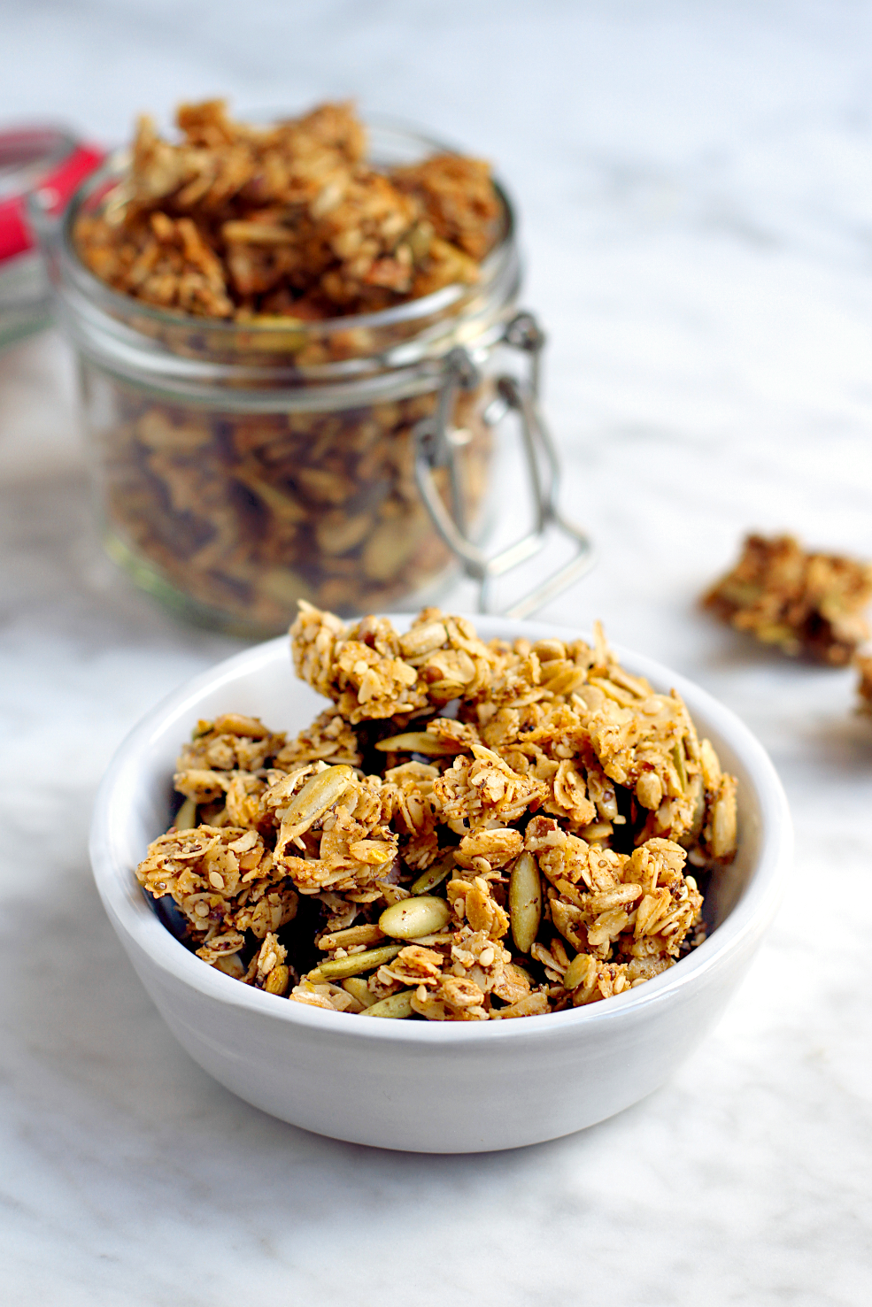 Five-Seed and Coconut Granola