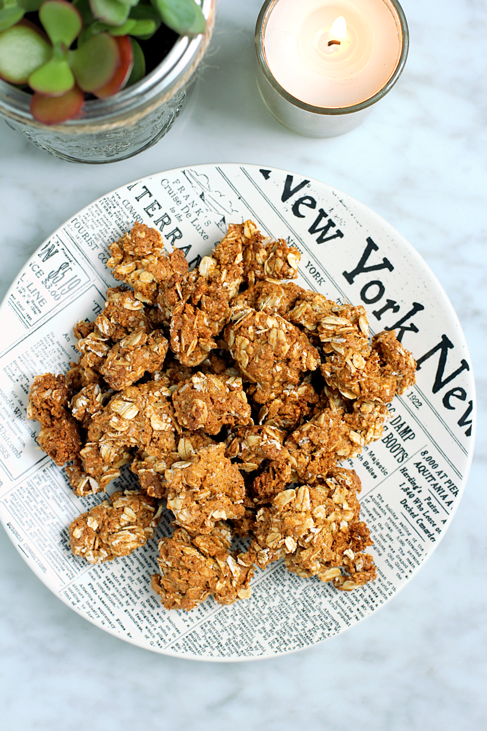 Image of gluten-free peanut butter cookie granola.
