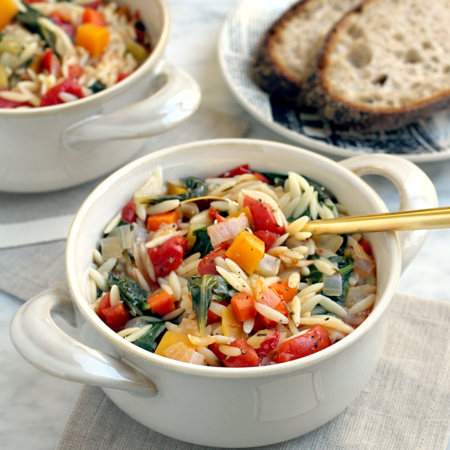 Vegetable and Orzo Soup