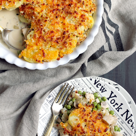 Potato-Topped Chicken Pot Pie