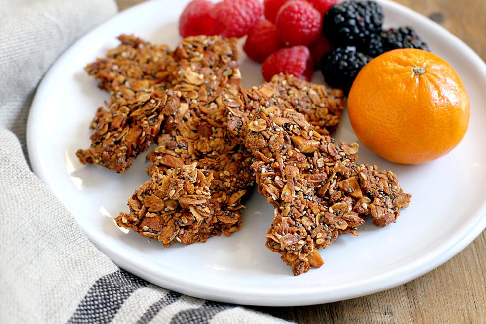 Image of granola bark.