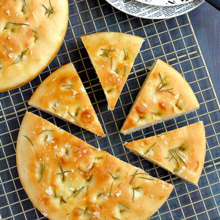 Rosemary Focaccia Rounds