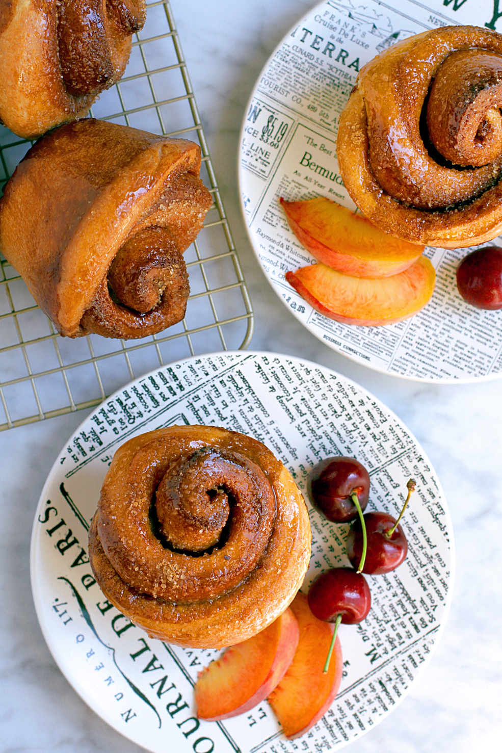 Image of mouthwatering morning buns.