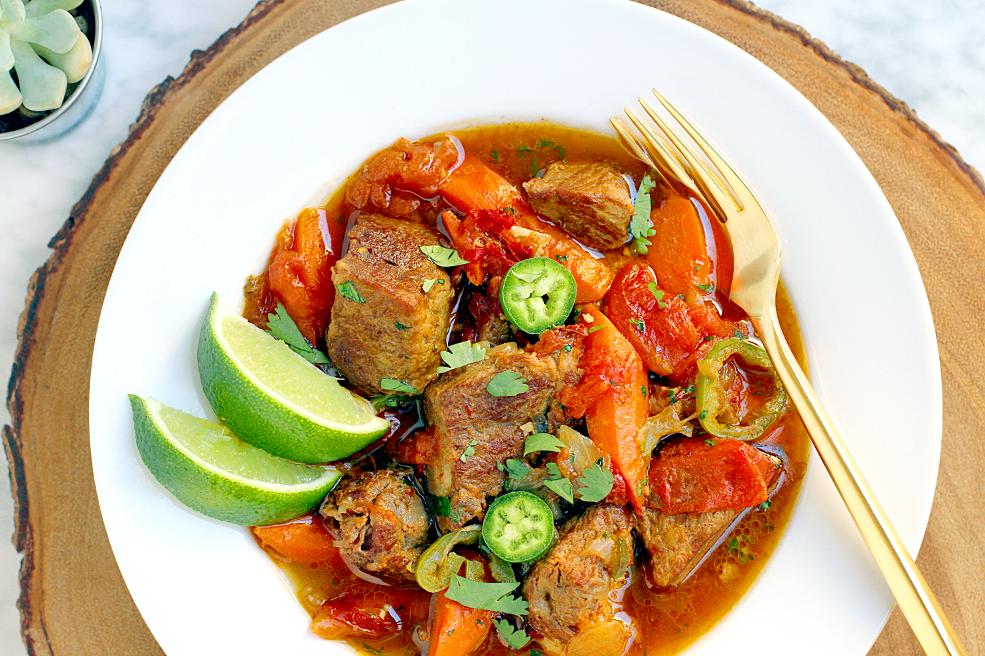 Image of Yucatán pork stew.