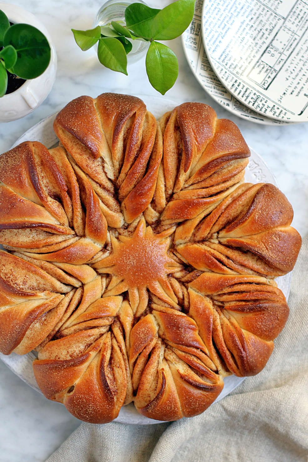 Cinnamon Star Bread Two Of A Kind