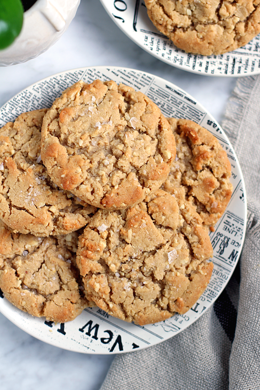 Honey Roasted Peanut Butter Cookies Two Of A Kind
