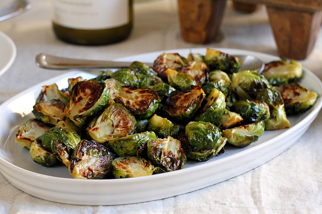 Roasted Brussels Sprouts With Honey Balsamic Glaze Two